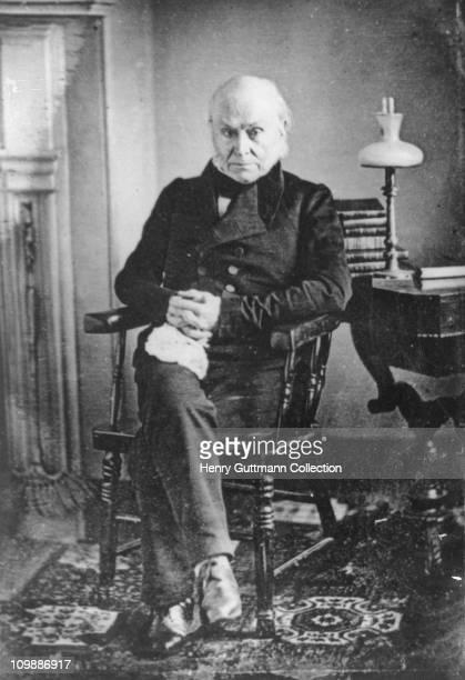 American politician John Quincy Adams circa 1840