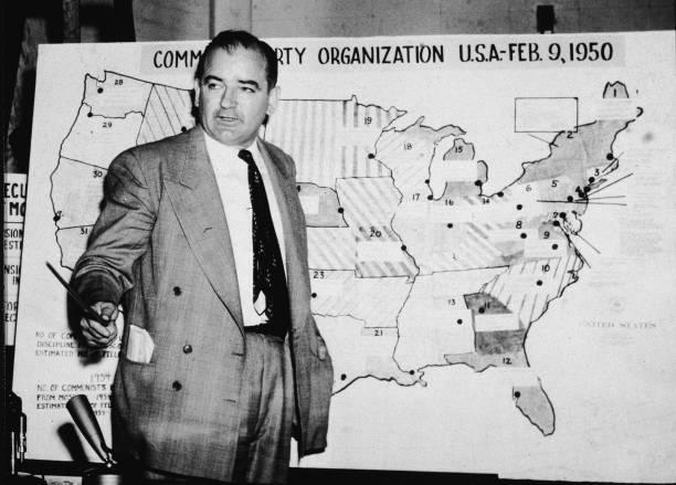 McCarthy In Army-McCarthy Hearings Wall Art