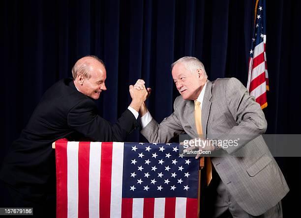 American Politicians Arm Wrestling