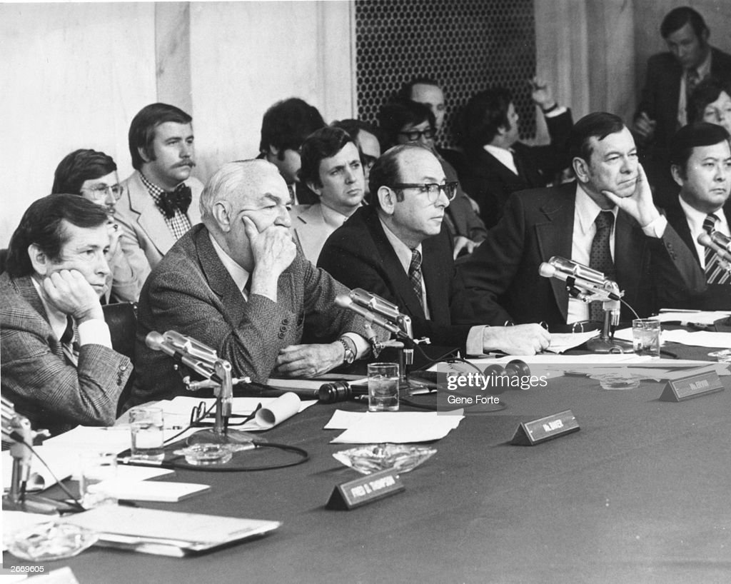 Watergate Hearing : News Photo