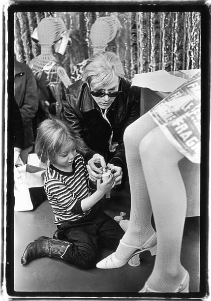 Warhol, Ari, & Nico In A & S Department Store Wall Art