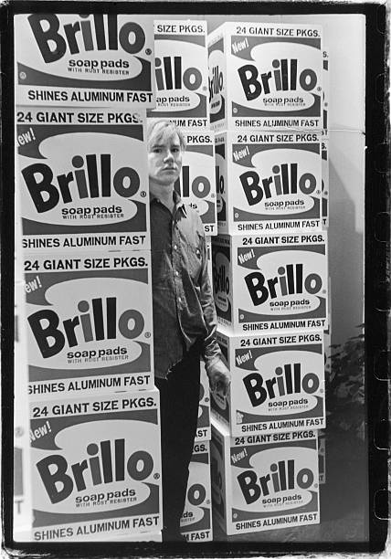 Warhol & Brillo Boxes At Stable Gallery Wall Art