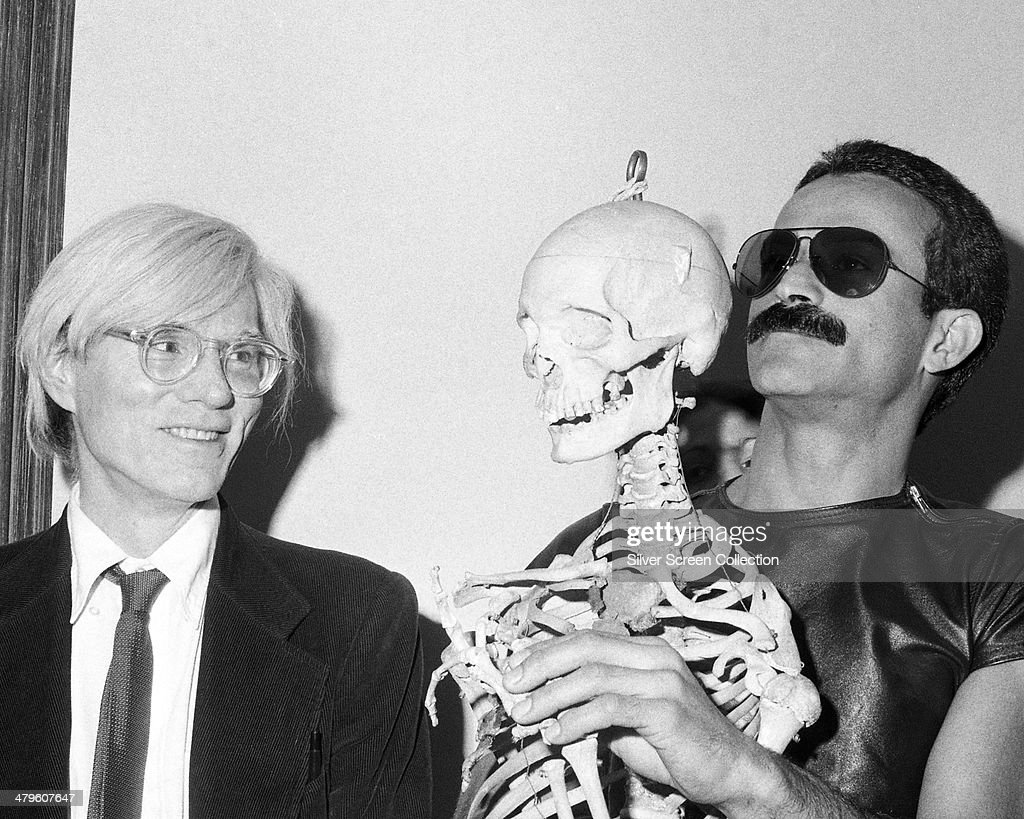 Warhol And Hugo : News Photo