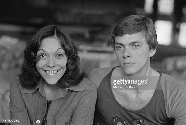 American pop duo The Carpenters Karen Carpenter and her brother Richard Amsterdam Netherlands February 1974