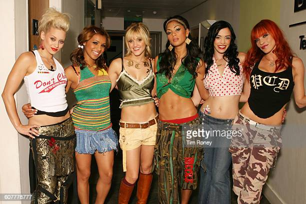 American pop girl group The Pussycat Dolls circa 2005 From left to right they are Kimberly Wyatt Melody Thornton Ashley Roberts Nicole Scherzinger J...