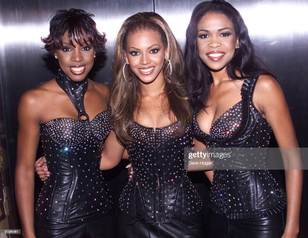 American pop group 'Destiny's Child' attend the MTV Music Video Awards held at Radio City Music Hall on September 7, 2000 in New York.