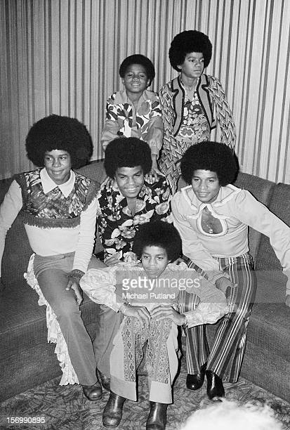 American pop group The Jackson 5 consisting of brothers Jackie Tito Jermaine Marlon Michael and Randy Jackson London November 1972