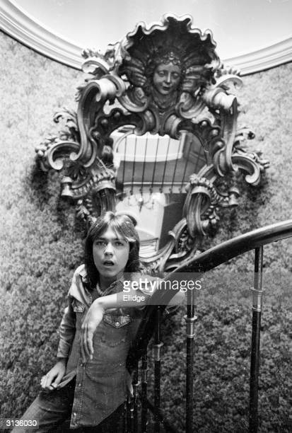 American pop singer and star of the television programme 'The Partridge Family' David Cassidy 30th April 1974