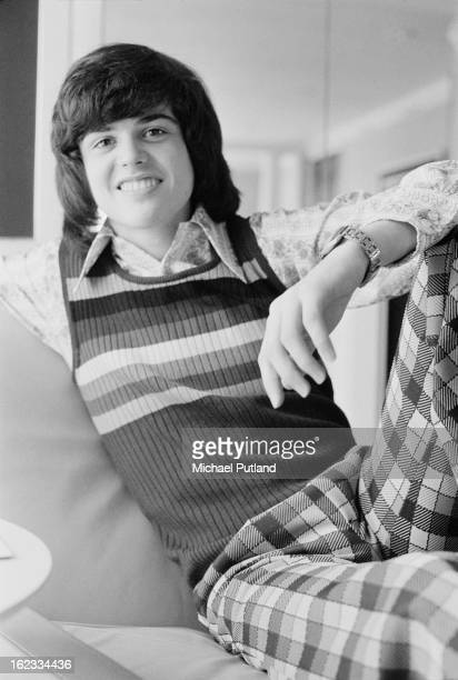 American pop singer Donny Osmond 2nd March 1973