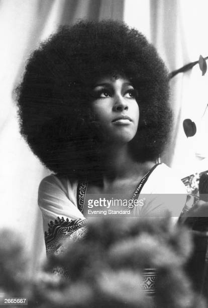 American pop singer Marsha Hunt whose career has found greater success in the UK than the States particularly with her rendition of Dr John's 'Walk...