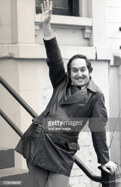 American pop singer pianist composer and record producer Neil Sedaka circa 1977