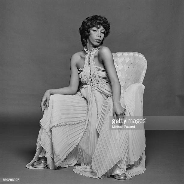 American pop soul and disco singer and songwriter Donna Summer London 29th April 1976