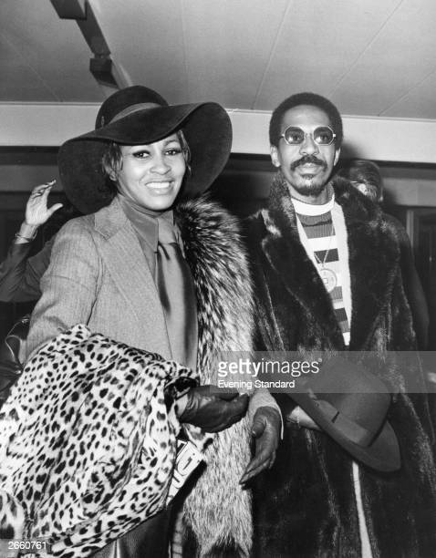 American popsoul husband and wife duo Ike and Tina Turner