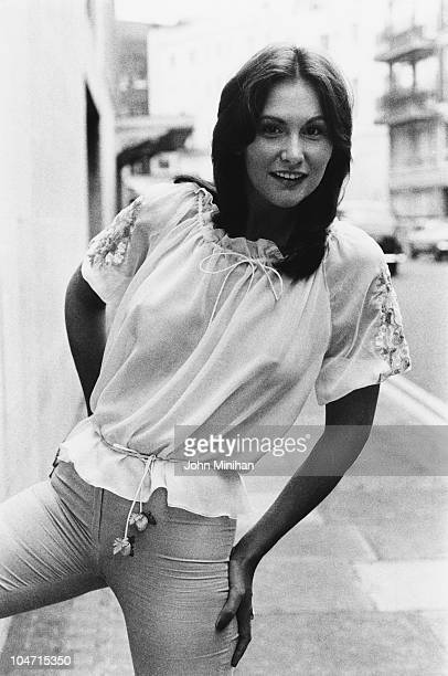 American pornographic actress Linda Lovelace 26th June 1974 Photo by John Minihan/Evening Standard/Hulton Archive/Getty Images