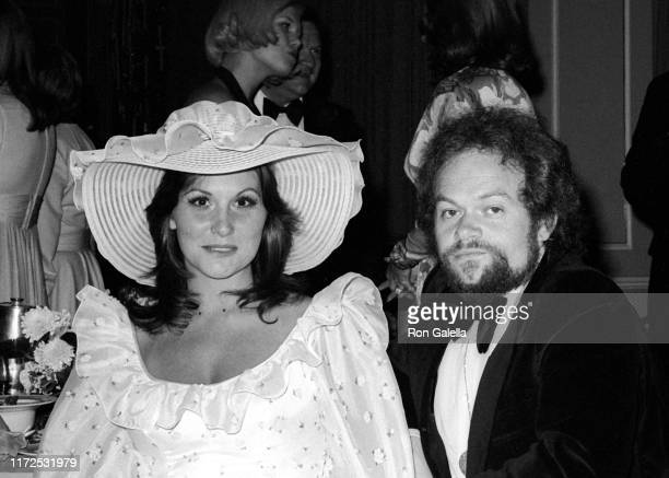 American pornographic actress Linda Lovelace and English-born American choreographer David Winters attend the 26th annual Directors Guild Awards at...