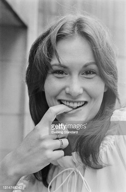 American pornographic actress Linda Lovelace , UK, 25th June 1974.