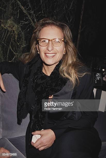 American portrait photographer Annie Leibovitz 1992