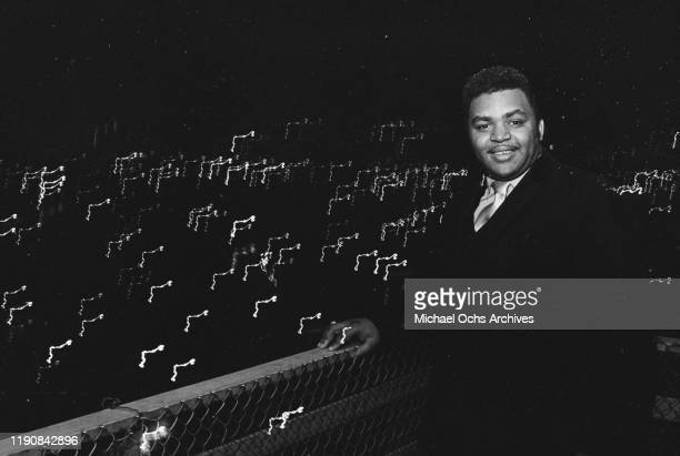 American preacher and singer Solomon Burke , circa 1969.