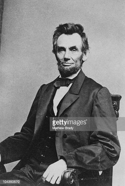 American President Abraham Lincoln circa 8th January 1864