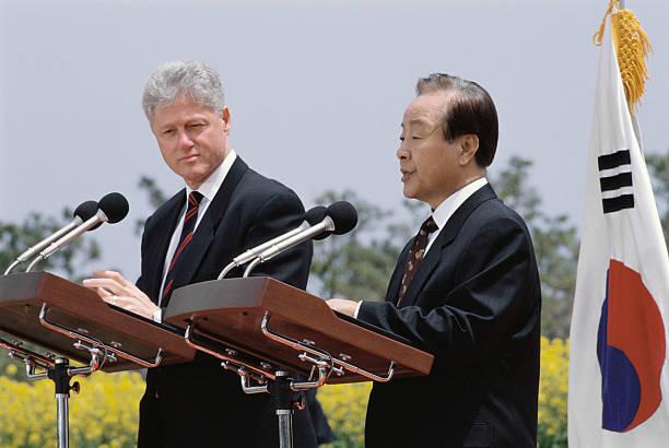 Young President Clinton