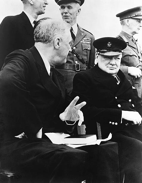 CAN: 14th August 1941 - WWII: Britain And The USA Issue The Atlantic Charter