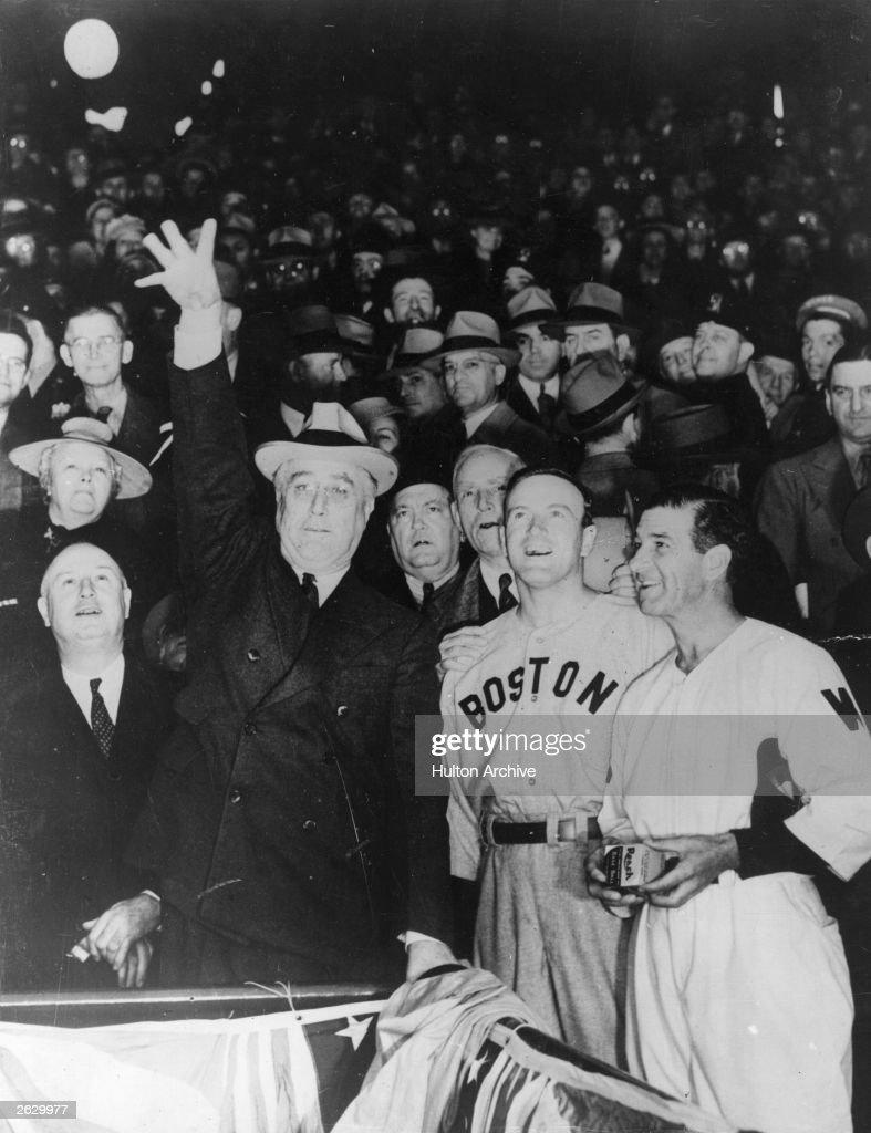 Baseball President : News Photo