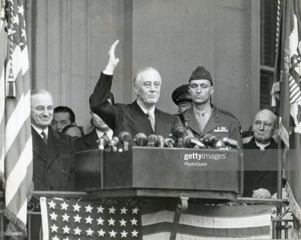 FDR's 4th Inauguration : News Photo