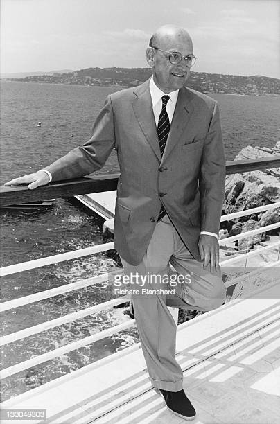 American producer Edward R Pressman at the Hotel Du Cap in Antibes France shortly after the Cannes Film Festival June 1995 He is there to publicise...