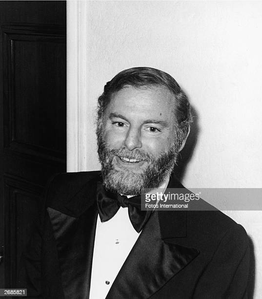 American producer Leonard Goldberg attends a New Year's Eve party held by author Harold Robbins at the Crystal Room of the Beverly Hills Hotel...