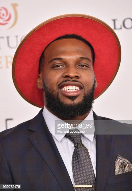 American professional basketball player for the Orlando Magic Shelvin Mack attends Kentucky Derby 144 on May 5 2018 in Louisville Kentucky