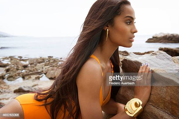 American professional basketball Skylar Diggins is photographed for Essence Magazine on March 1 2014 in Los Angeles California