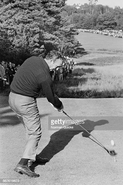 American professional golfer Arnold Palmer at the Piccadilly World Match Play Championship Wentworth 1968