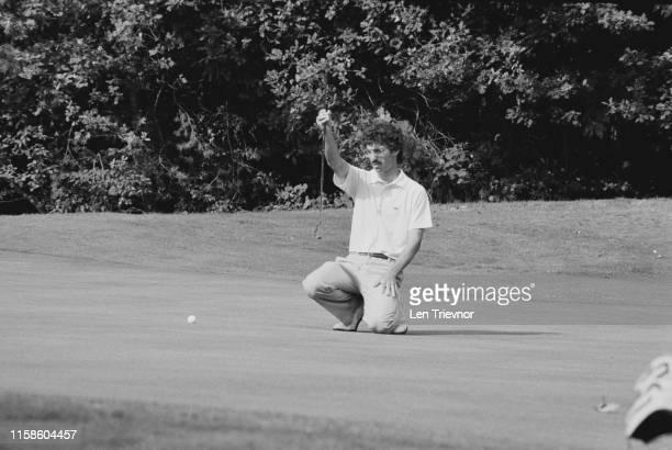 American professional golfer Corey Pavin at the World Match Play Championship London UK 29th September 1984