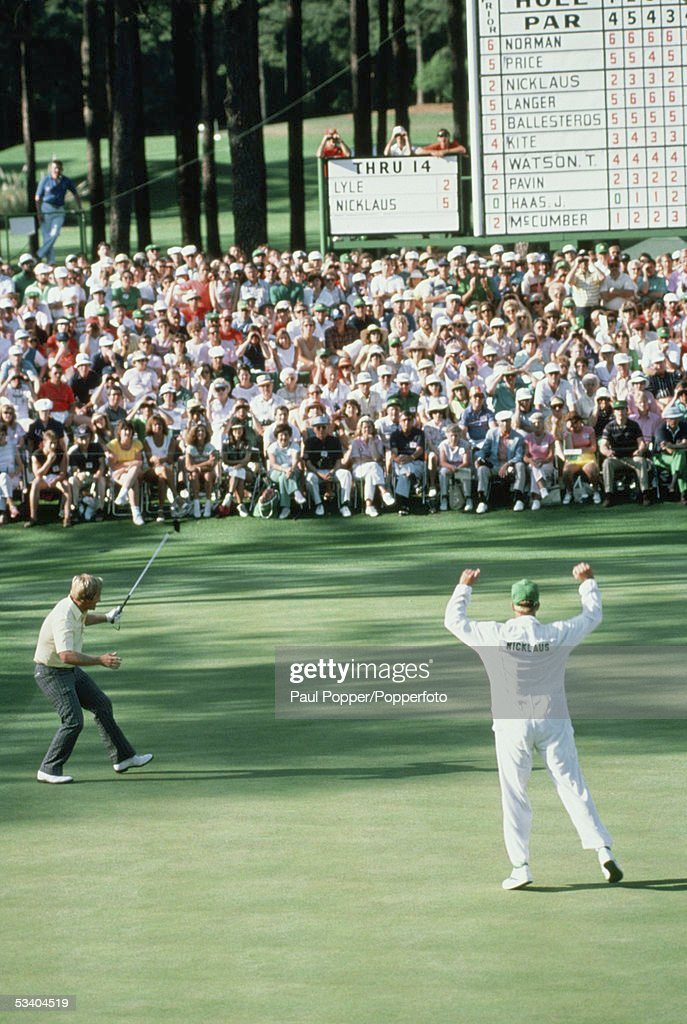 1986 Masters Tournament : News Photo
