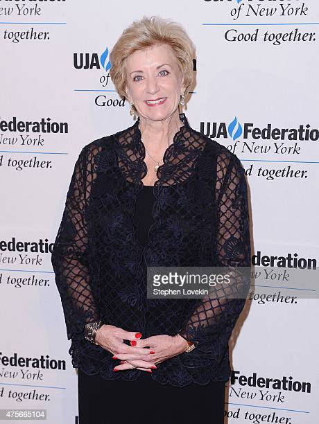 American professional wrestling magnate Linda McMahon attends The UJA-Federation of New York's Entertainment Division Signature Gala at 583 Park...