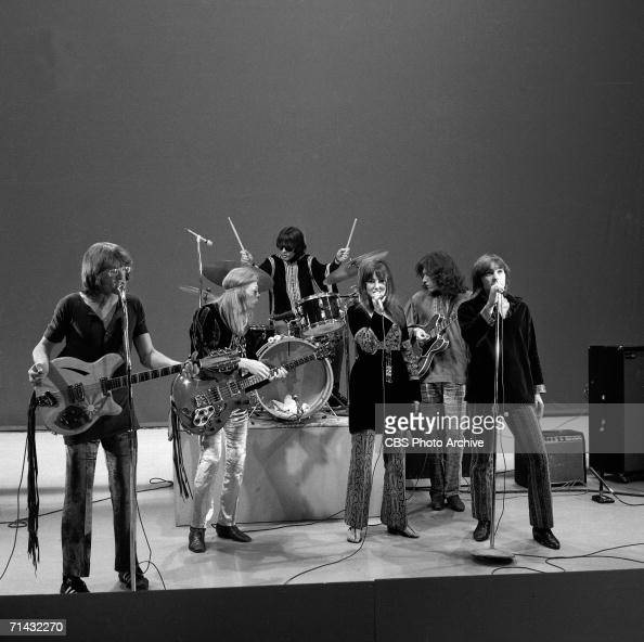 American psychedelic rock band Jefferson Airplane performs ...