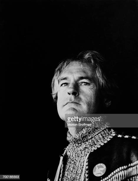 American psychologist Timothy Leary in Washington DC for the Moratorium Day Rally against the Vietnam War November 15 1967