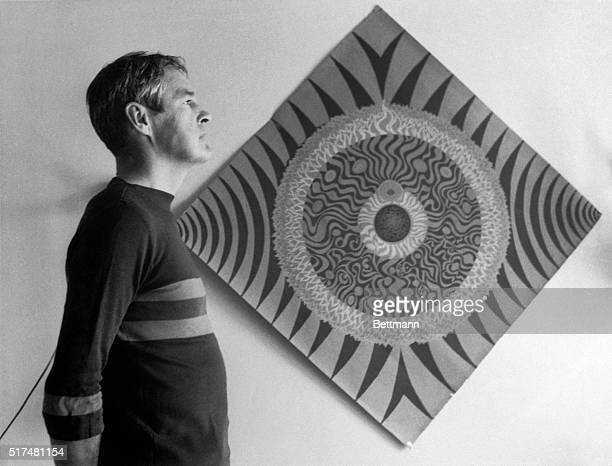 Psychologist and LSD proponent Timonthy Leary standing next to a mandala in 1966 By contemplation of mandalas Leary said he was able to reach a...