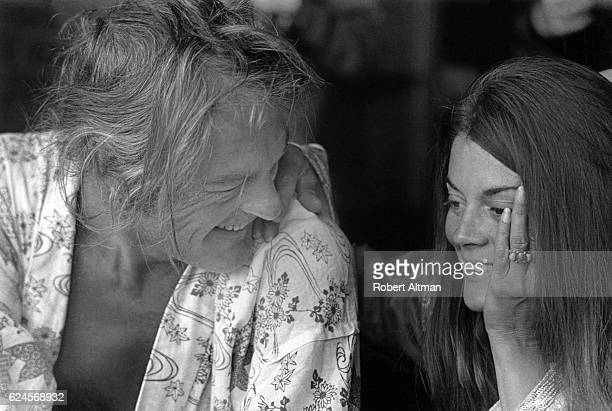 American psychologist Timothy Leary and his wife Rosemary Leary at home on June 17 1969 in Berkeley California