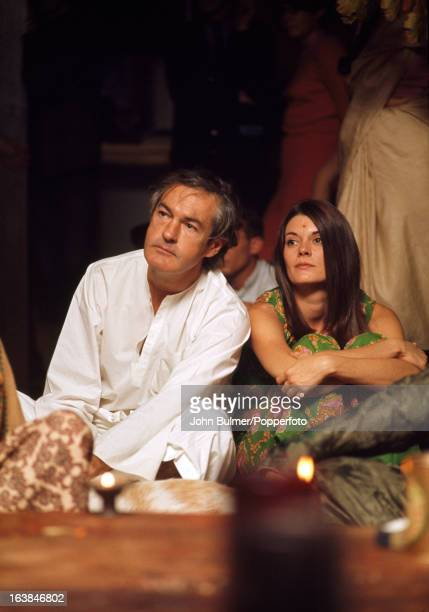 American psychologist Timothy Leary with his wife Rosemary Woodruff 1967