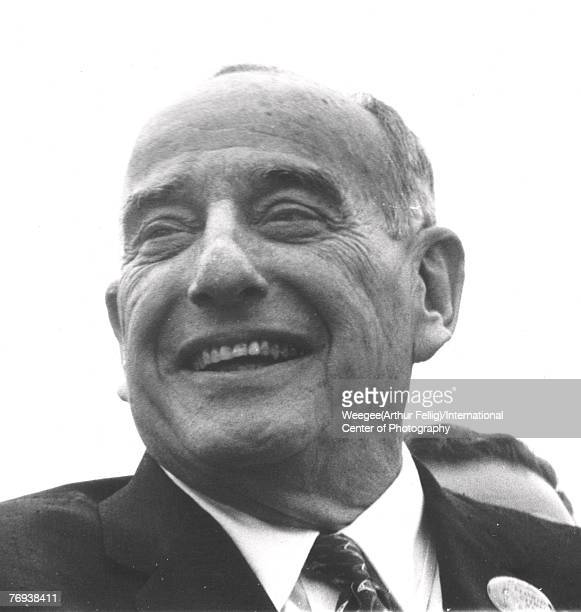 American public official and city planner Robert Moses smiles as he attends the New York's World's Fair Flushing Meadows New York New York 1964 Photo...