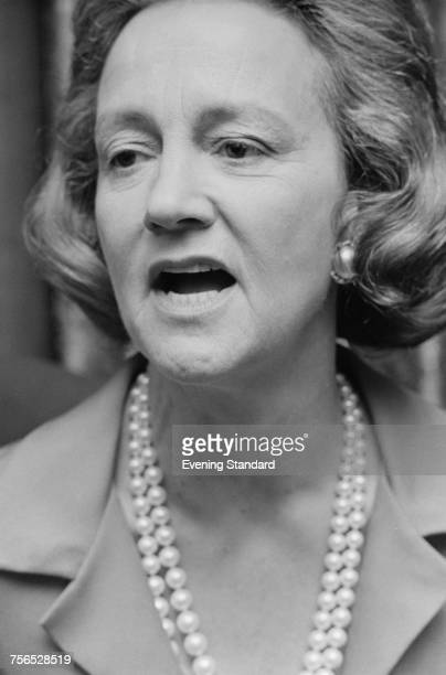 American publisher Katharine Graham chairwoman of the board of the Washington Post newspaper 25th March 1974