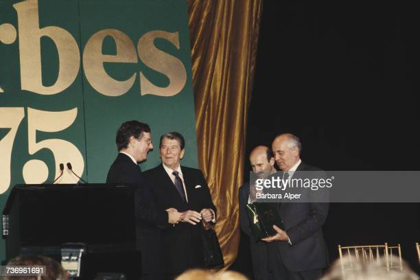 American publishing executive Steve Forbes at the Forbes Magazine 75th Anniversary celebration at Radio City Music Hall in New York City 11th May...