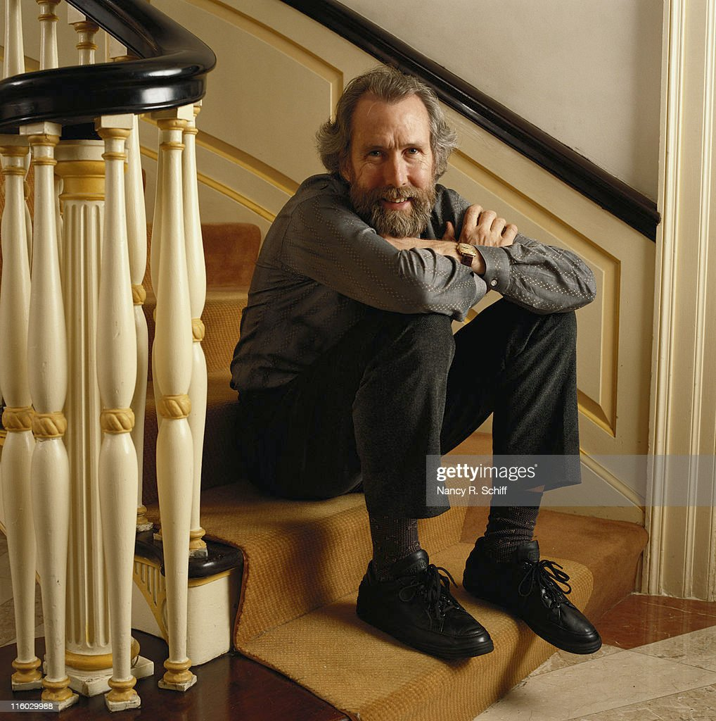 American puppeteer Jim Henson (1936 - 1990), creator of 'The Muppets', 1986.