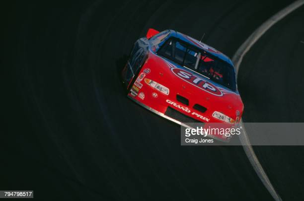 American racing driver Bobby Hamilton driving the Petty Enterprises number 43 car during prcatice for the CocaCola 600 at Charlotte Motor Speedway...