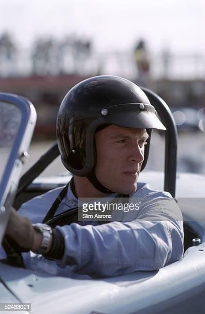 American racing driver Dan Gurney at the 1963 Nassau Speed Week