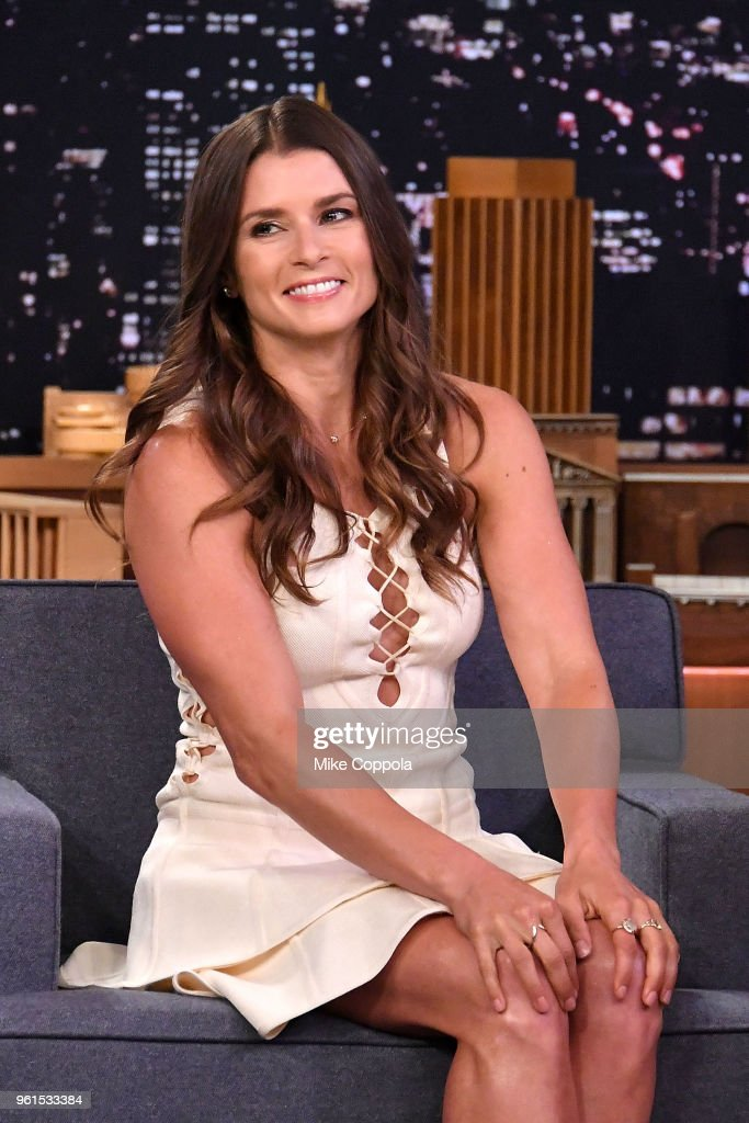 "Danica Patrick Visits ""The Tonight Show Starring Jimmy Fallon"""