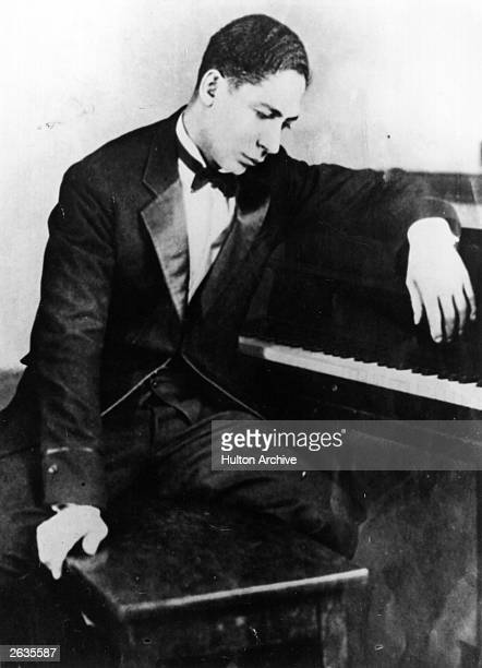 American ragtime jazz musician and songwriter Ferdinand Joseph La Menthe, better known as Jelly Roll Morton .