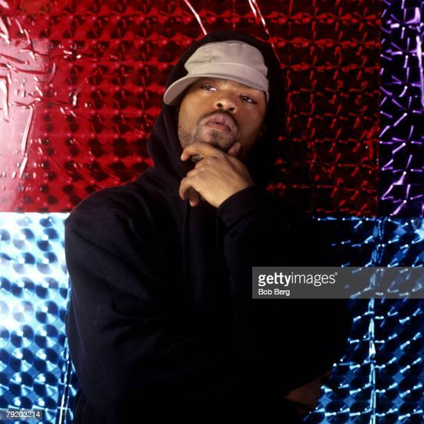 American rap artist Method Man of the rap group WuTang Clan poses for a April 1997 portrait in New York City New York