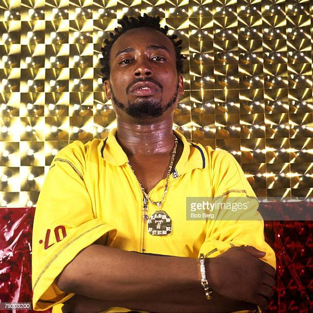 American rap artist ODB of the rap group WuTang Clan poses for a April 1997 portrait in New York City New York